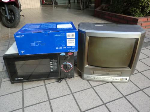 テレビや電子レンジなど