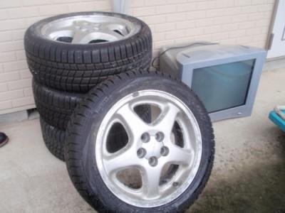 タイヤとテレビ