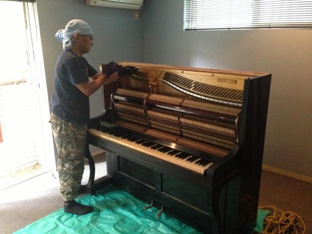 ピアノ解体2