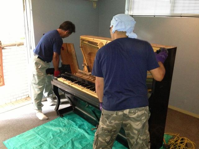 ピアノ解体3