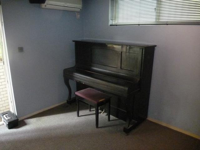 60年前のピアノ