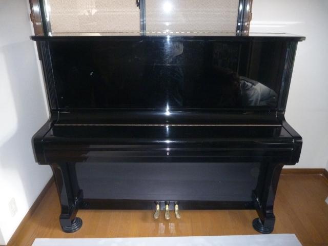 解体前のピアノ