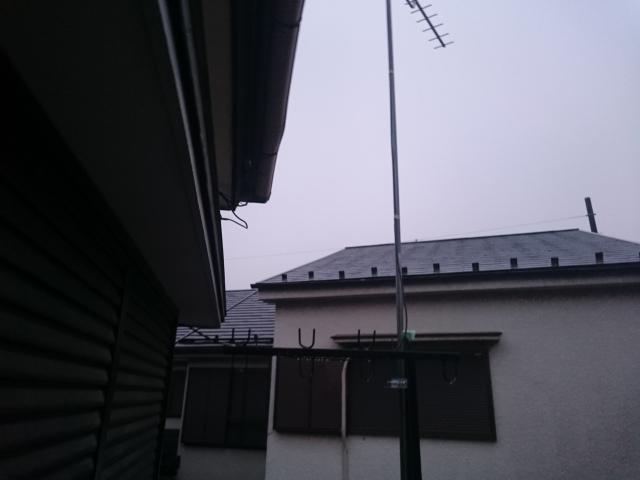 屋根撤去後