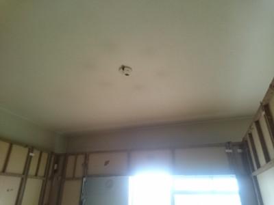 天井の解体