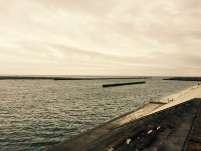 大磯町の海