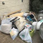 世田谷区で物置の解体撤去と中身の処分