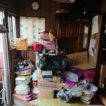 足立区で家の解体前の残置物処分