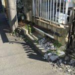 西東京市で土や石、コンクリートブロックなどの撤去処分