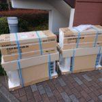 横浜市で新品エアコン2台と冷蔵庫の買取